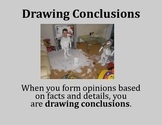 Drawing Conclusions Poster - Intermediate Elementary Schoo