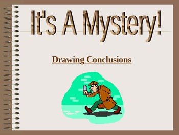 Drawing Conclusions Powerpoint