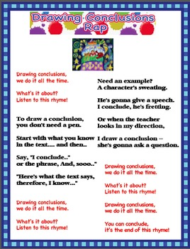 Drawing Conclusions Rap