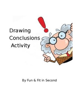Drawing Conclusions Reading Skill Sheet