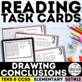 Drawing Conclusions Reading Task Cards