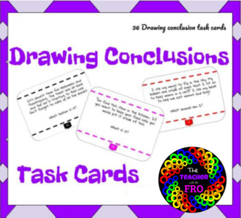 Drawing Conclusions Task Cards