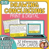 Drawing Conclusions Task Cards - Inference Reading Skills