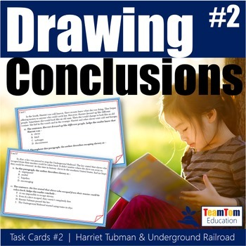 Drawing Conclusions Task Cards (STAAR Prep)