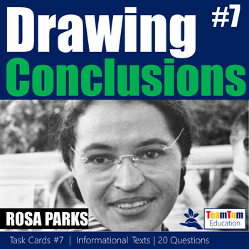 Drawing Conclusions Task Cards (STAAR Prep) 314
