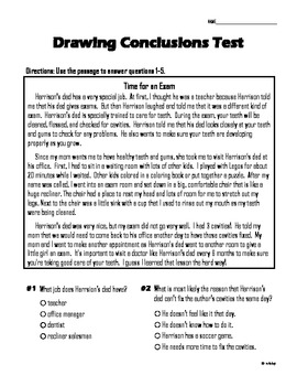 drawing conclusions worksheets 3rd grade free – careless.me