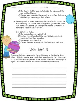 Drawing Conclusions: The Easter Egg Hunt!