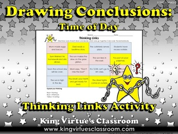 Drawing Conclusions: Time of Day (Morning, Afternoon, or E