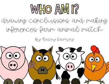 Drawing Conclusions- Who am I Match Game