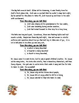 UPDATED!!! Drawing Conclusions Worksheet