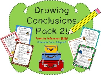 Drawing Conclusions Worksheet Pack 2!