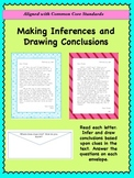 Drawing Conclusions and Making Inferences: Close Read