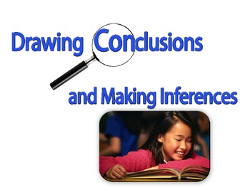 Drawing Conclusions and Making Inferences Formula Graphic Organizer