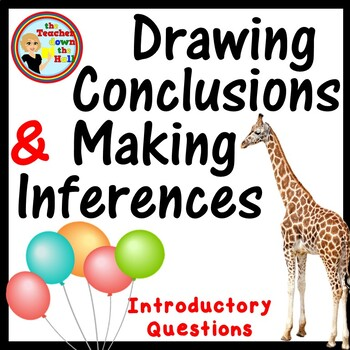 Drawing Conclusions and Making Inferences - Introductory Ppt