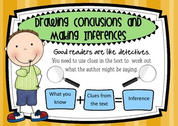 Drawing Conclusions and Making Inferences Poster