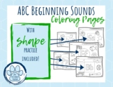 ABC and Shape Practice!