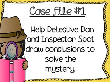 Drawing Conclusions with Detective Dan and Inspector Spot