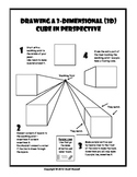 Drawing Cubes in 1 Point Perspective handout