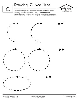 Drawing Curved Lines