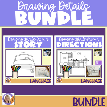 #crazybundledeals Auditory Memory:Drawing Details From a Story & From Directions