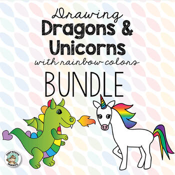 Drawing Dragons & Unicorns with Rainbow Colors