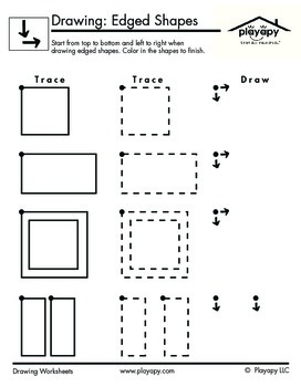 Drawing Edged Shapes