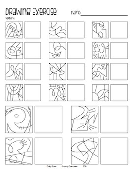 Drawing Exercises for Elementary Art