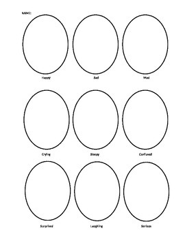 Drawing Expressions Worksheet