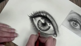 Drawing Eyes in Charcoal