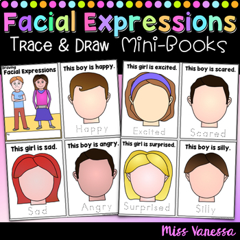 Drawing Facial Expressions Mini-Books Bundle