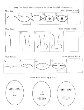 Drawing Facial Features