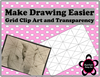 Drawing Grid Transparency/ Clip Art Aide