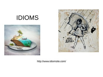 Drawing Idioms-Sketchbook Assignment