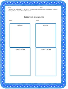 Drawing Inferences with Quoting Accurately