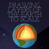 Drawing Layers of Earth to Scale