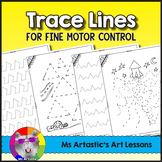 Trace Lines for Fine Motor Control