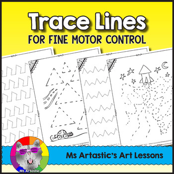 Trace Lines for Fine Motor Skills