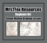 """Drawing - """"Learn to Draw!!!"""" Shape Drawing Method"""