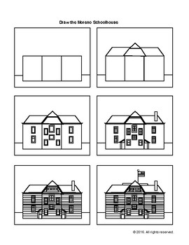 Drawing Lesson: Moreno School House