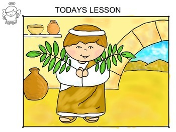 Drawing Lesson  - Palm Sunday Bible Scene
