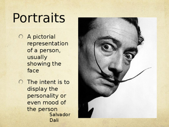 Drawing Lesson on Monochromatic Portraits PowerPoint