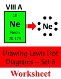 Drawing Lewis Dot Diagrams - Set 3