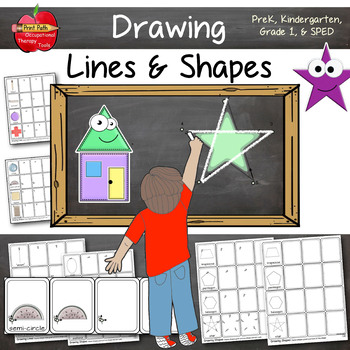 How to Draw Lines & Shapes: Leveled and Differentiated Instruction