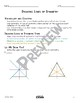 Drawing Lines of Symmetry Math Video and Worksheet
