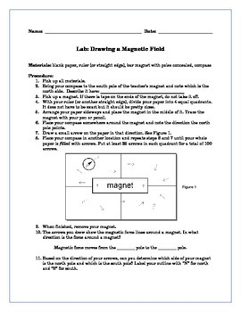 Drawing Magnetic Field Lines Lab