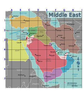 Drawing Maps: The Middle East
