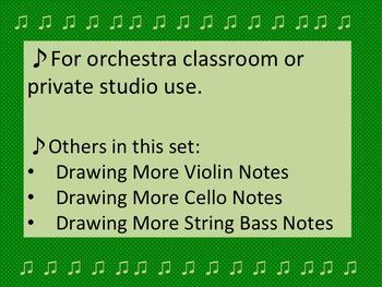Drawing More Viola Notes