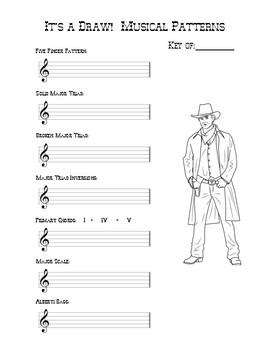 Drawing Musical Patterns