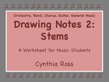 Drawing Notes 2: Stems