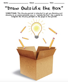 """Drawing Packet - """"Draw Outside the Box"""""""